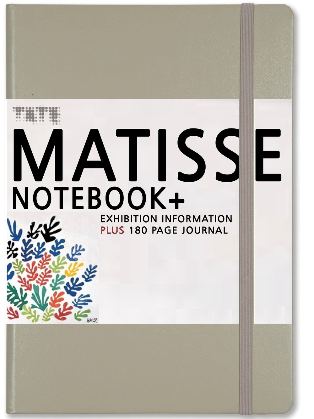 Gallery NOTEBOOK+  featuring a wraparound guide to Matisse's work plus a 190 pages of plain paper