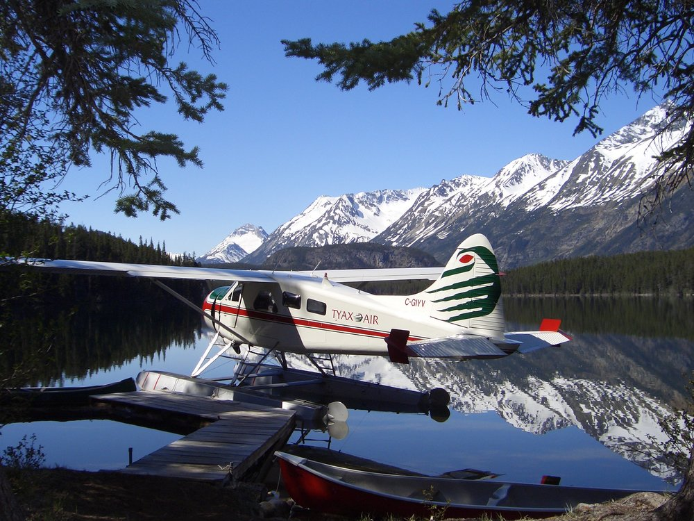Tyax Air floatplane, Cariboo Mountains, British Columbia, Canada