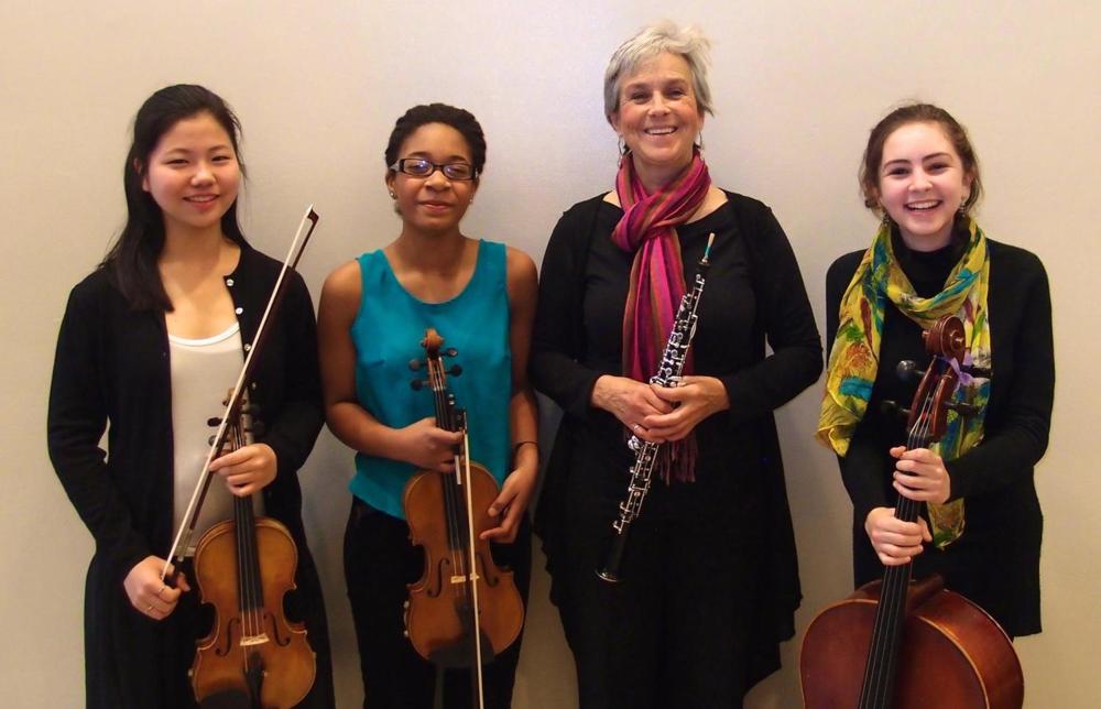 Violobos:Mitsuru Yonezaki, Njioma Grevious, Peggy Pearson, and Alma Bitran