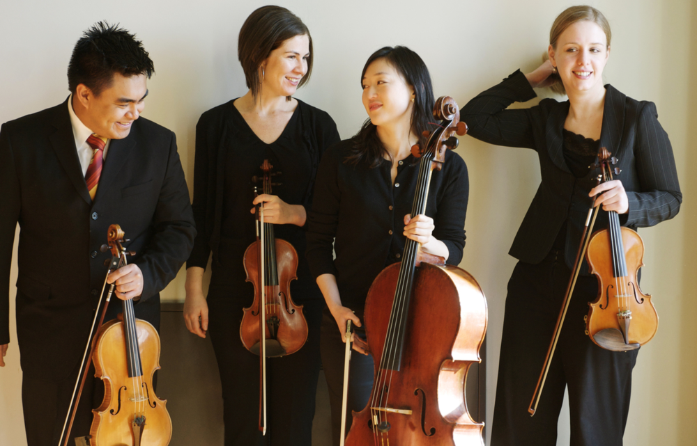 Arneis Quartet: Daniel Doña, Rose Drucker, Agnes Kim, Heather Braun