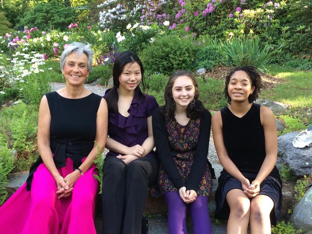 Violobos — Peggy Pearson, Mitsuru Yonezaki, Alma Bitran, and Njioma Grevious