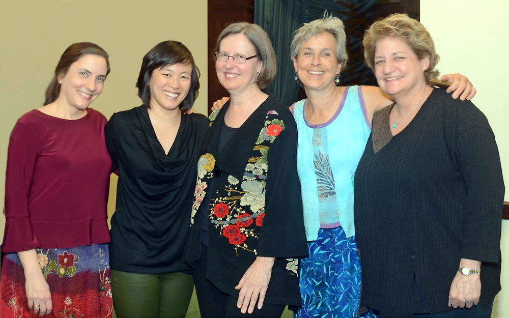 La Fenice:Maria Lambros, Cathy Cho, Diane Walsh, Peggy Pearson, Marcy Rosen