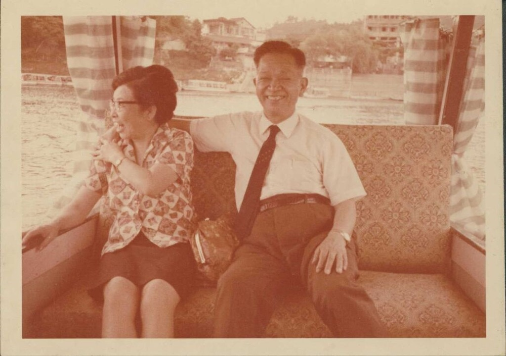 From Yi Yiing Chen: My ah ma and my grandfather