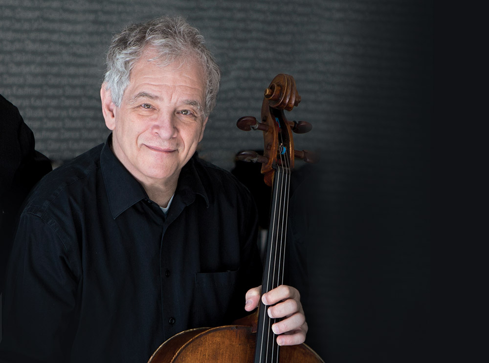 Joel Krosnick, cello | Credit: Simon Powis, published in  The Juilliard Journal