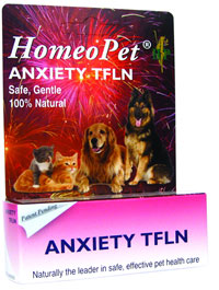 Homeopathic remedy provides relief from fear of: Thunderstorms,  Fireworks, Wind, Loud Noises, Gunshots. Restless, anxious and unwanted  behavior can be helped with this fast acting, non-sedating liquid.