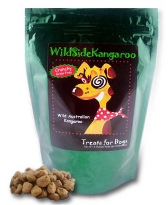 WildSide Kangaroo and Fuji Apple Crunchy Dog Treats