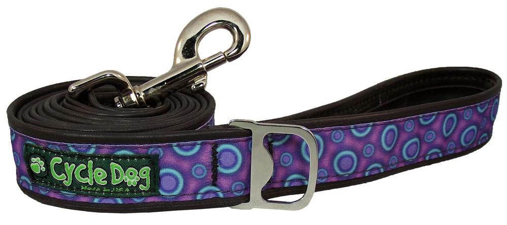 Standard Pup Top Lead - Purple Blue Space Dots