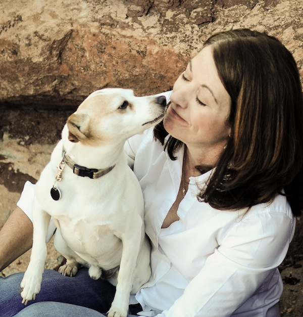 Amber Carlton and her dog, Ranger. Photo courtesy of  dogster.com .