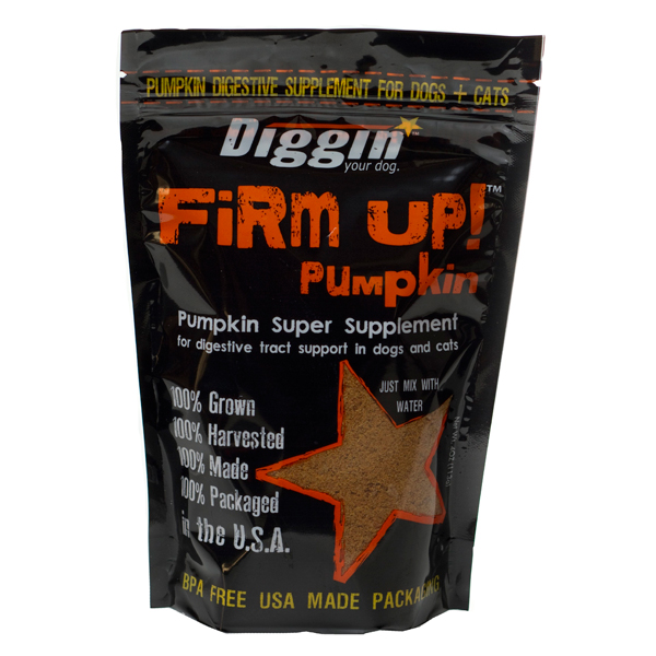 Along with canned pumpkin, Firm Up! Dehydrated Pumpkin Supplement is a quick and convenient way to provide the soothing power of pumpkin to your pet's diet. Find this and other high quality pumpkin products at End of the Leash!
