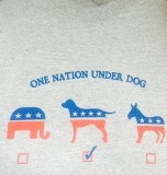 One Nation Under Dog T-shirt