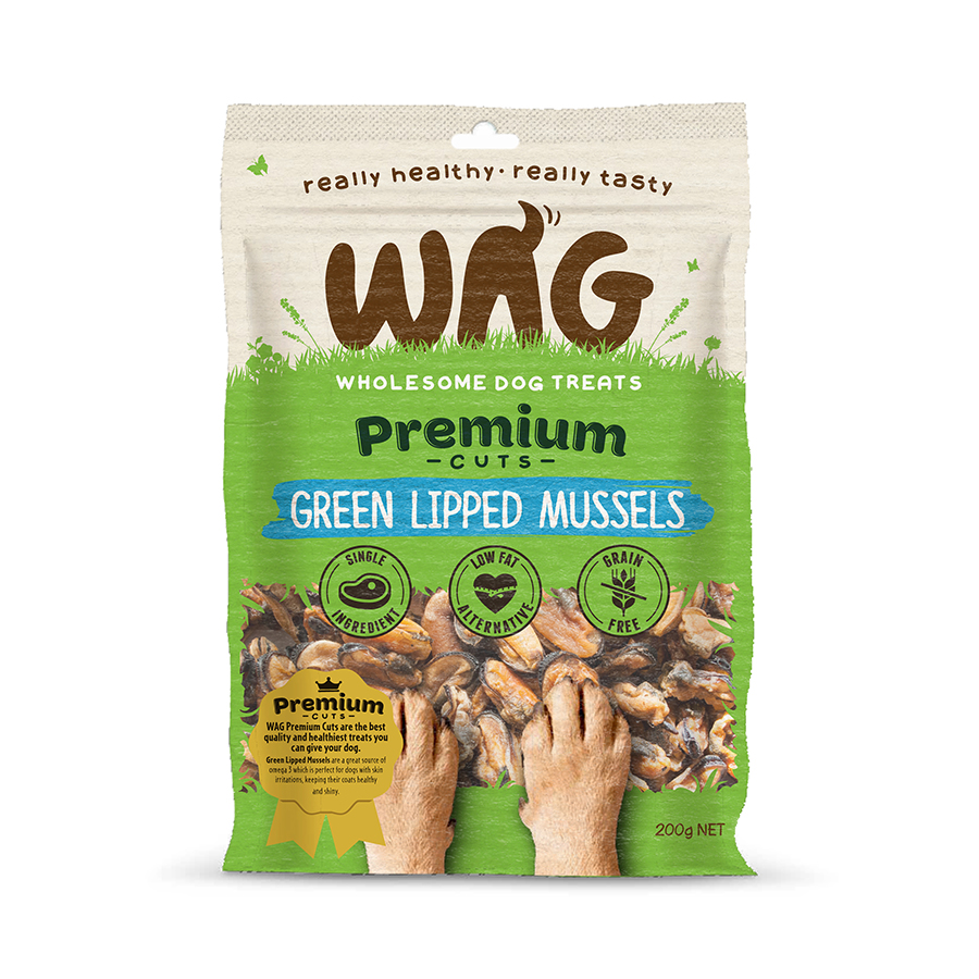 Wag Green Lipped Mussels