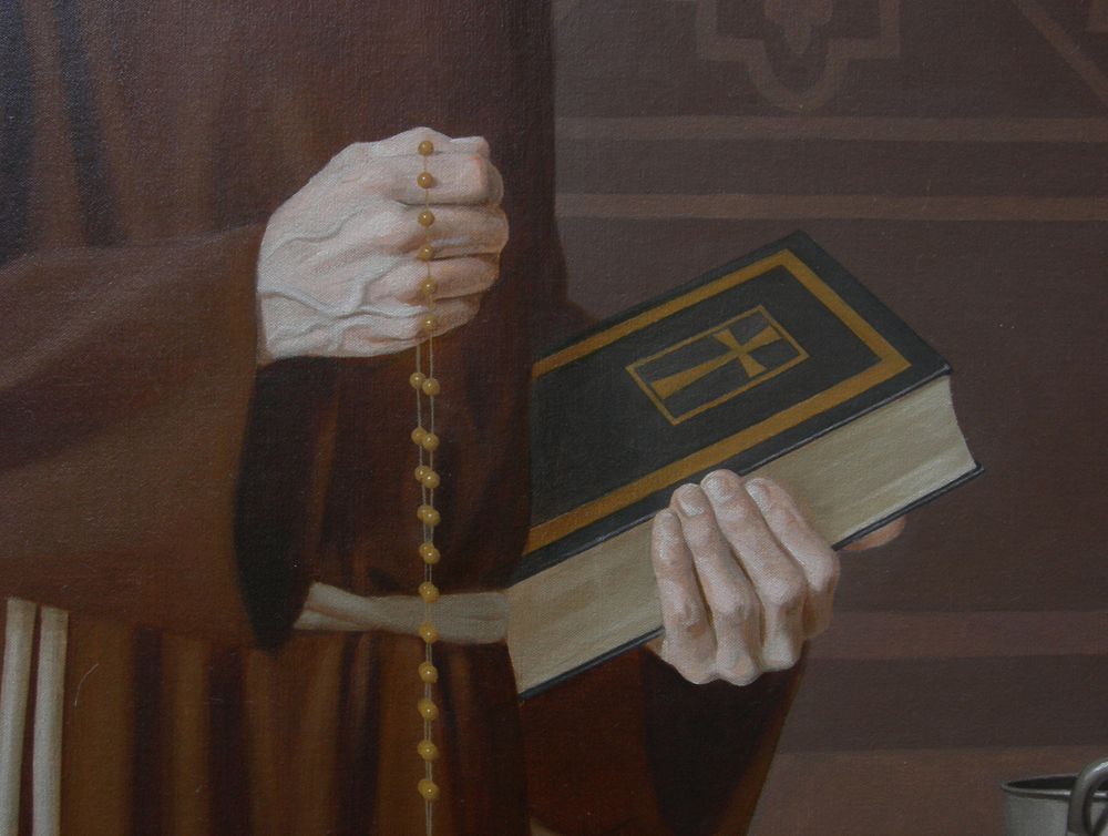"""Venerable Father Bernard Francis Casey"" detail"