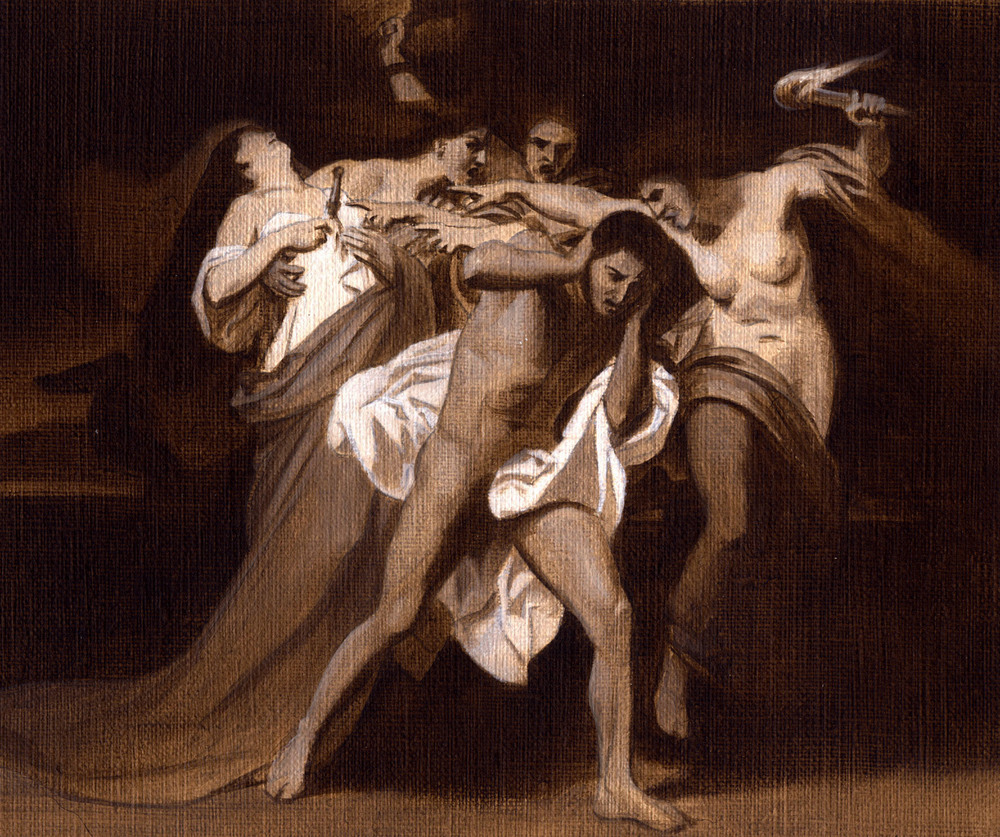 """The Remorse of Orestes"""