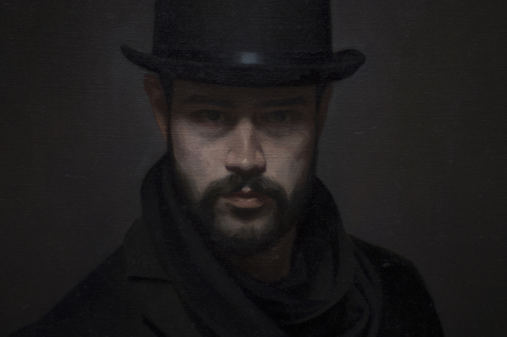 """Self Portrait as Jack"" (detail)"