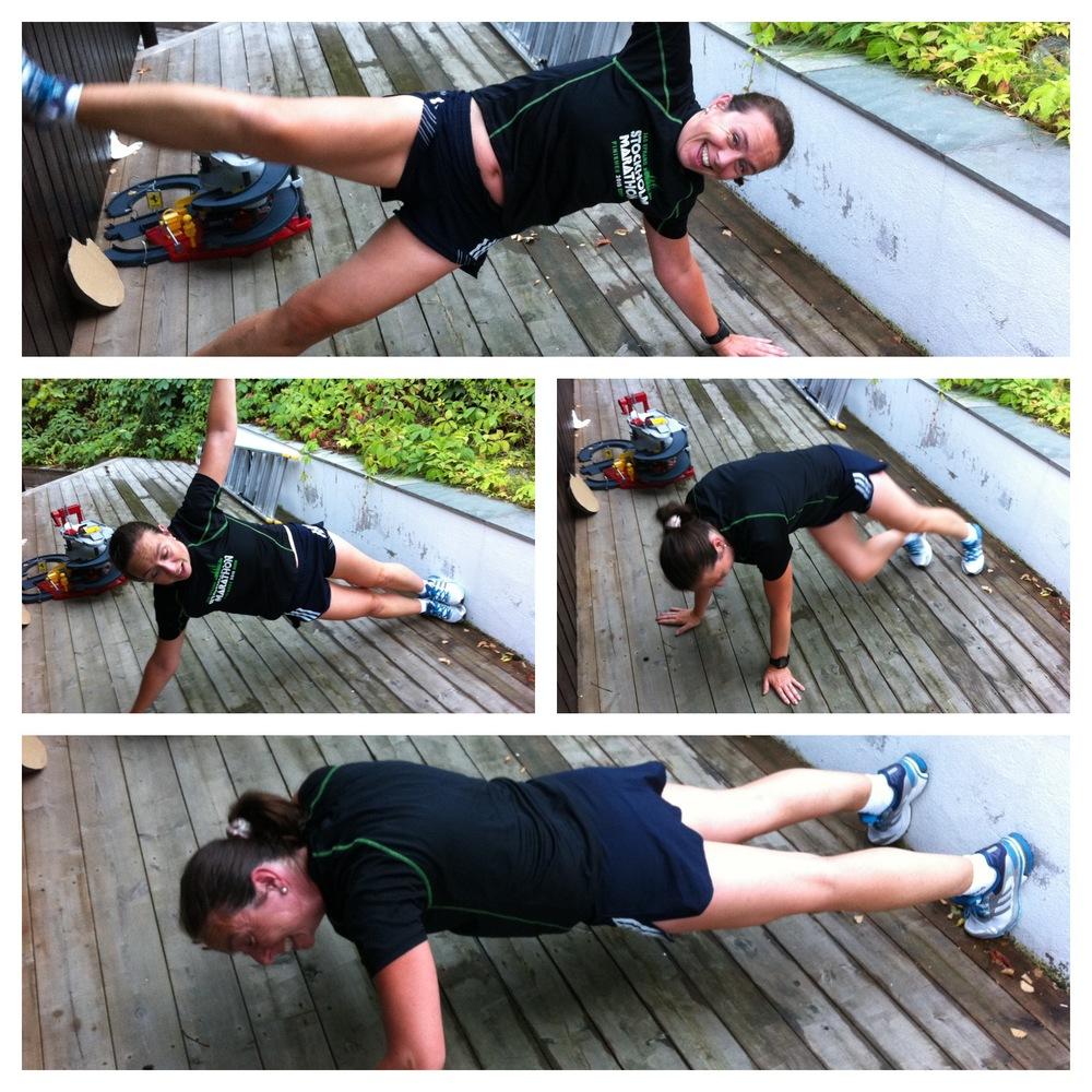 Sideplanke utav kontroll - etter løpings