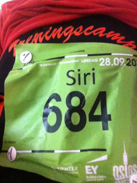 Startnummer og startnummermagneter, og Treningscampdrakta!