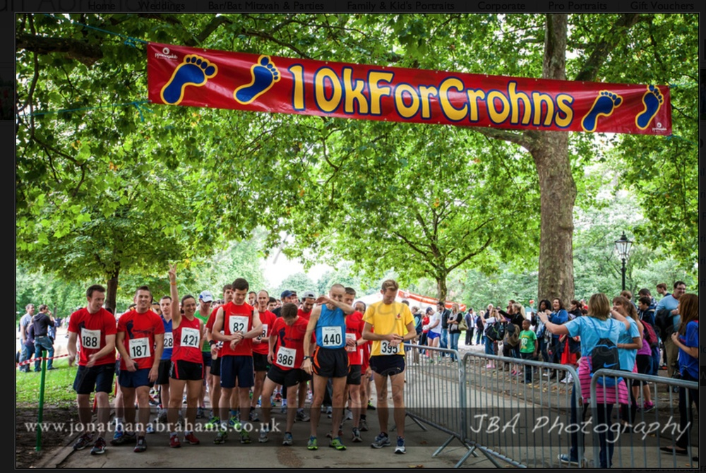 10 k for crohns. London 21/09/2013. 44:12