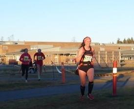 Jessheim vinterhalvmaraton 17/11-13 på 1:39:35