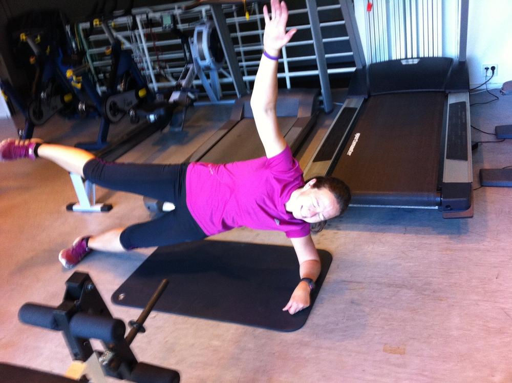 Fra bildearkivet - tidligere styrketreningstunt. Denne er ikke en del av runners strength timen.