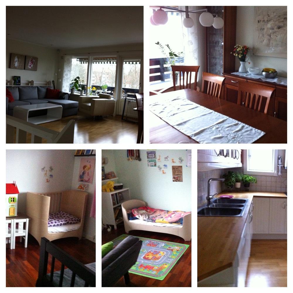 Deler av resultatet. Nå er boligen lagt ut på finn - og bare for å ha sagt det, bildene juger.