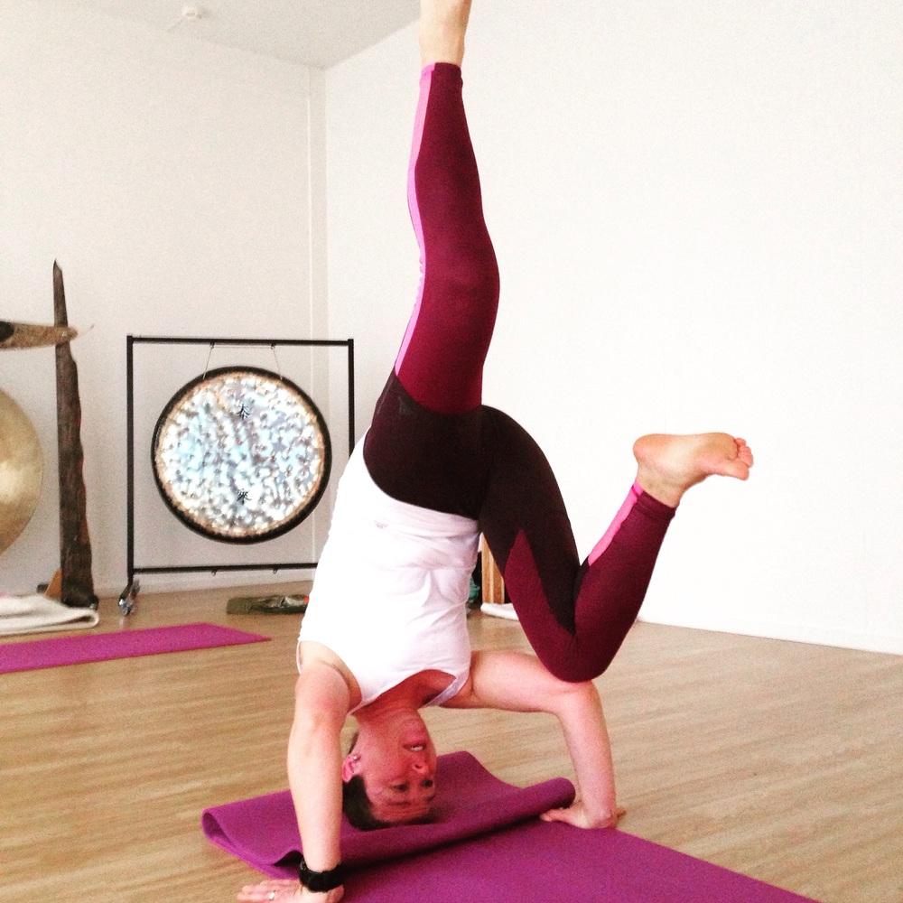 Etter noen få uker med yoga kom jeg hit, men ikke lenger
