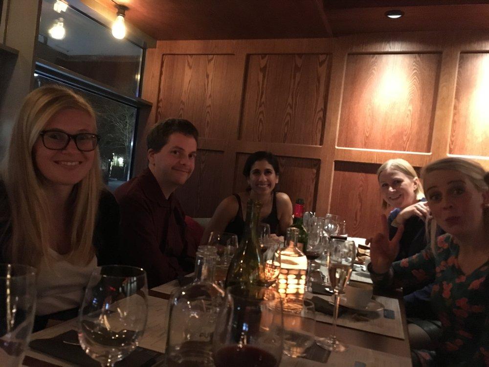 Ikke alle kom med på bildet, Kristine og Britt-Hege (og Siri) var også der!