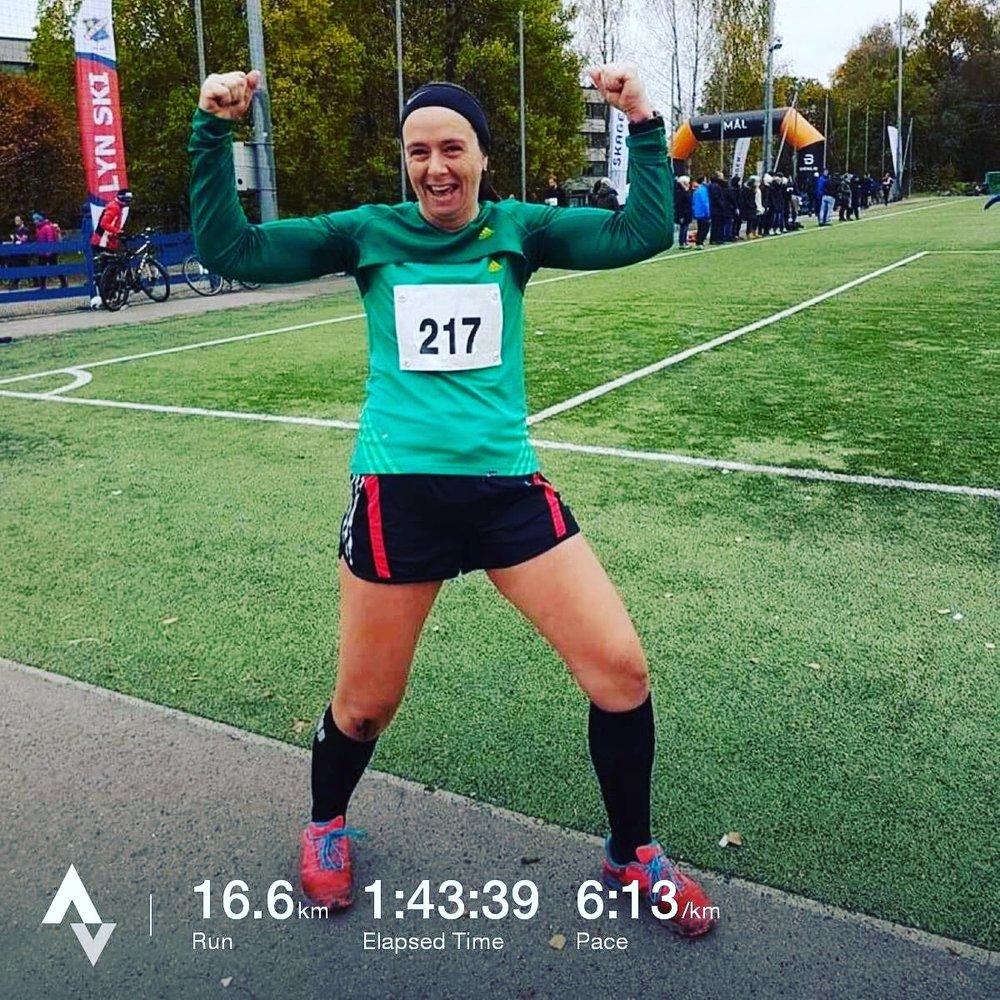 Iva Formos minneløp - dagen en helt ny dør åpnet seg! (foto: maratonmamma.com)