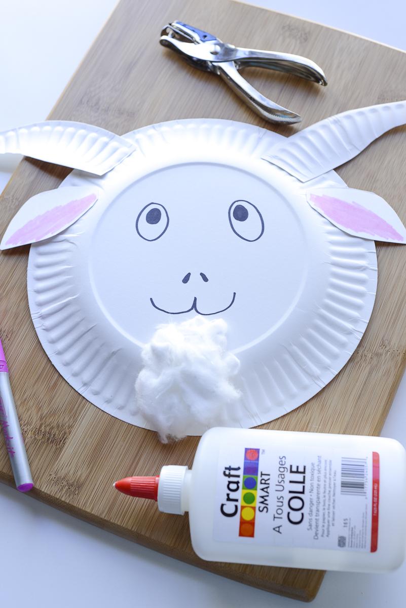 craft a goat mask