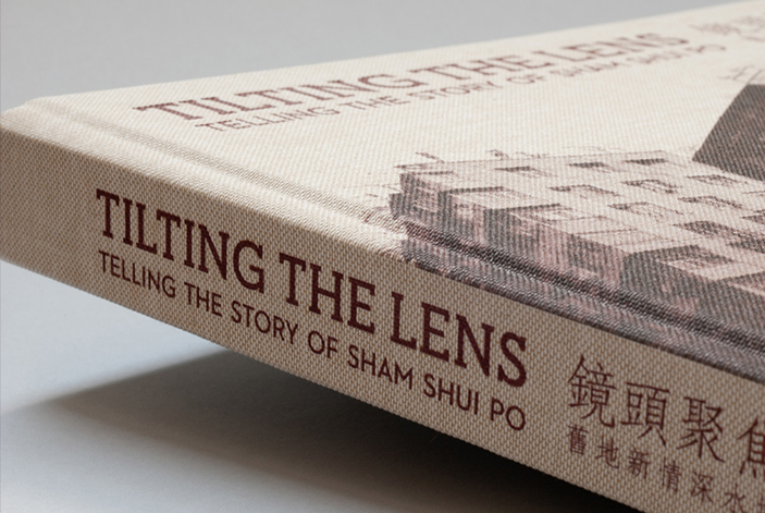 Tilting the Lens book design