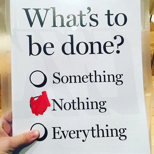 Everything. Always everything. 👌@wiedenkennedy design