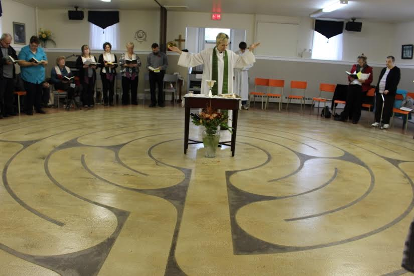 Dedication & Blessing of the Labyrinth