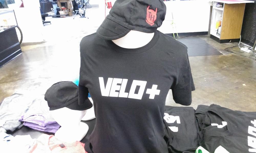 Velo + t shirts