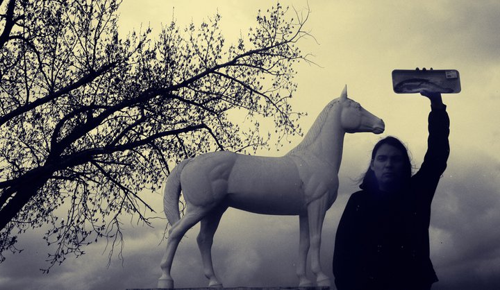 scott benesiinaabandan at White Horse Plains, Manitoba