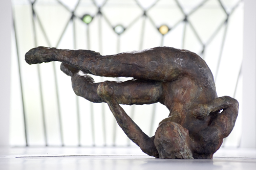 Tumbling Woman II , 2007 Medium: Bronze Dimensions: 25.5 x 47.5 x 26 inches Edition of 9 Arabic Numbers  and 2 Artist Proofs