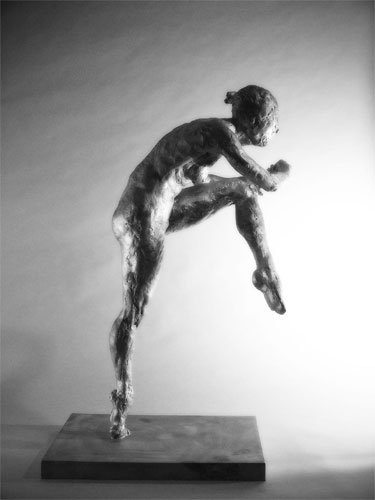 Dancer , 2001 Medium: Bronze Dimensions: 33 x 15 x 20 inches Edition of 7 Arabic Numbers  and 3 Artist Proofs