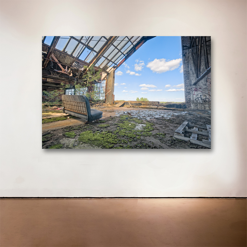 "A Room With a View, 2014 Medium: Sublimation on Aluminum Dimensions and Edition Size: 48""x72"", Edition of 7 