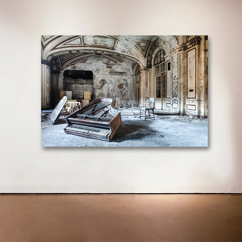 "The Soloist, 2014 Medium: Sublimation on Aluminum Dimensions and Edition Size: 48""x72"", Edition of 7 