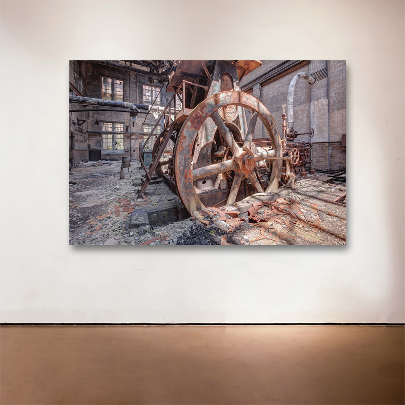 "Revolution, 2014 Medium: Sublimation on Aluminum Dimensions and Edition Size: 48""x72"", Edition of 7 