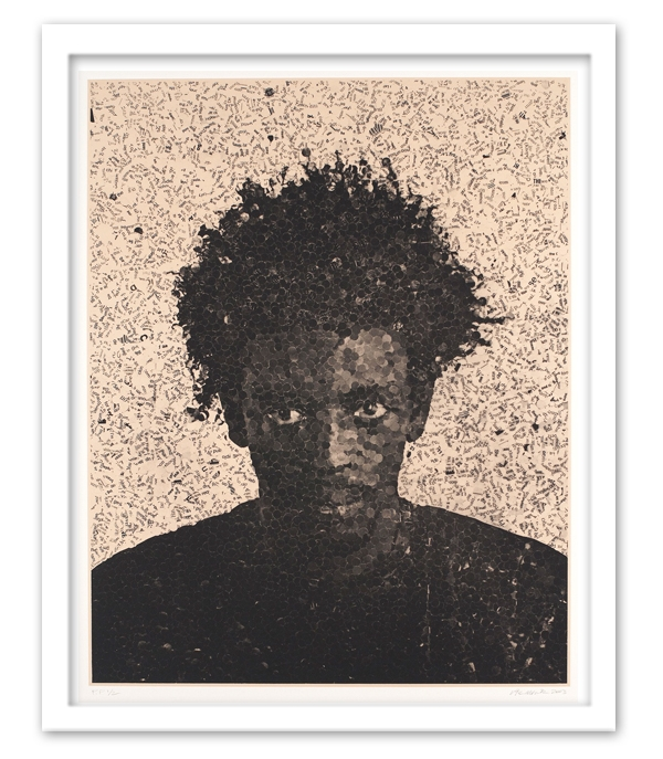 "Jorge, 2003 Medium: Photogravure on Silk Collé Dimensions: 52 1/4"" x 41 1/2"""