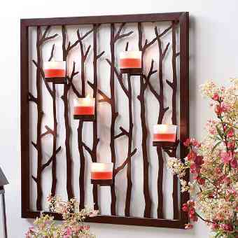 Woodland Light Floor Stand and Sconce