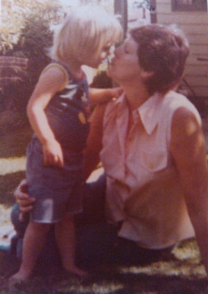 My Mom and I in 1976 ..