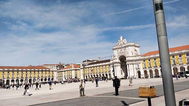 Fazia tempo que não te via Lisboa 💕 #lisboa