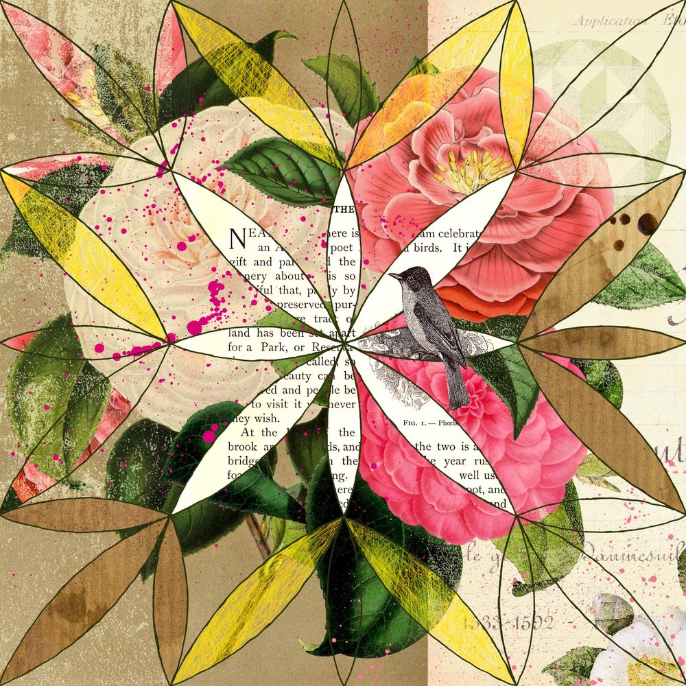 Camellia Mandala