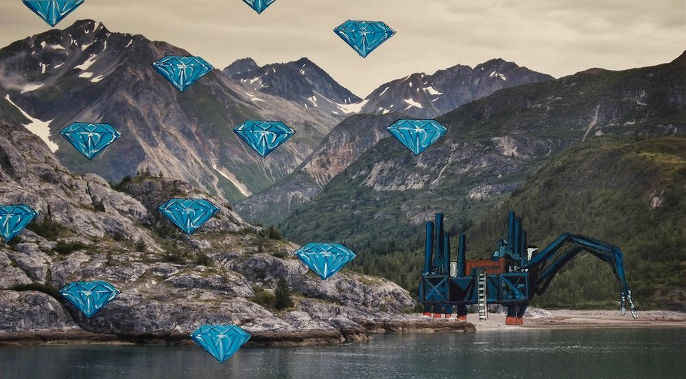 Culture is Illusion Ideal Landscapes: Study for Marine Diamond Mine
