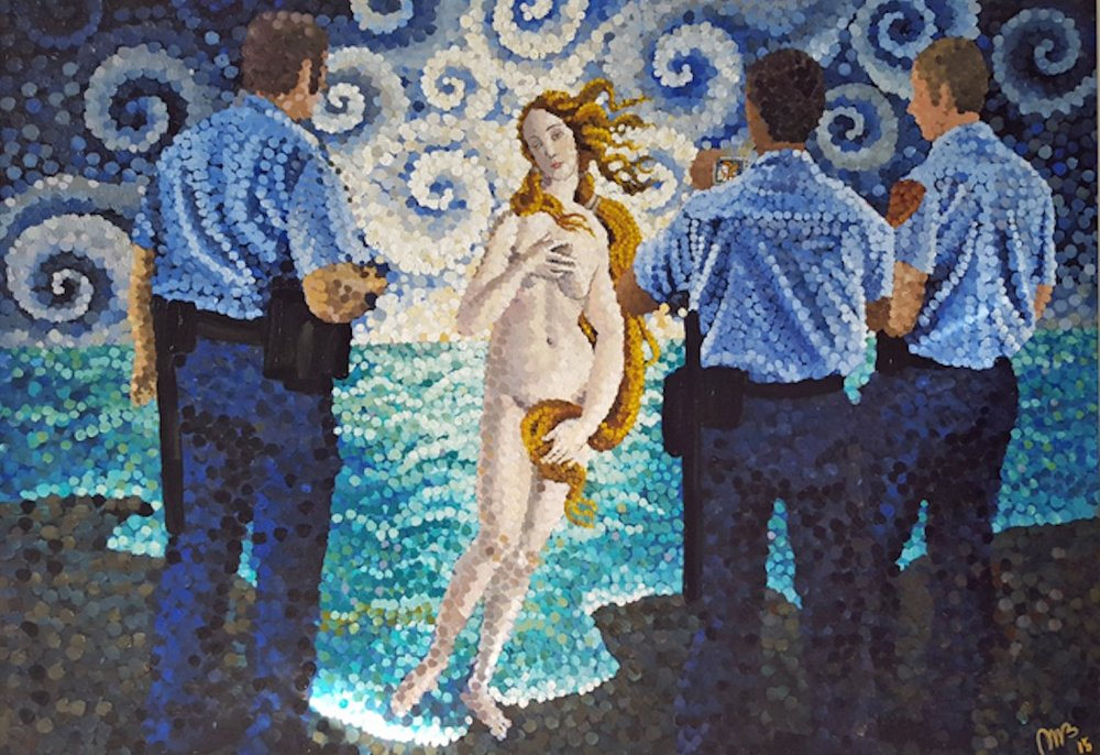 Venus and the Men in Blue 2