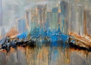 LA Skyline Series Blue