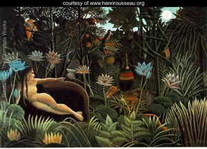 """""""The Dream"""" by Rousseau"""