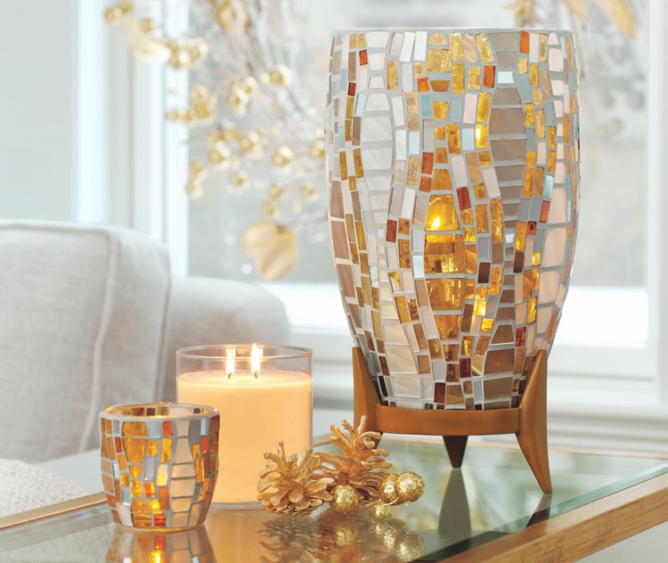The Magic of Mosaic Comes to Light at PartyLite This Season