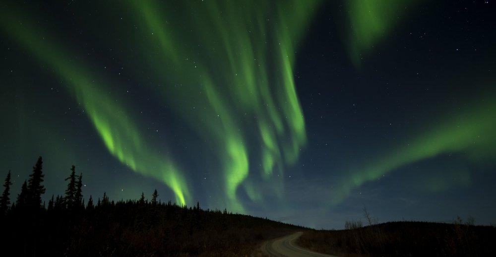 Chris Pepper Dawson City Aurora