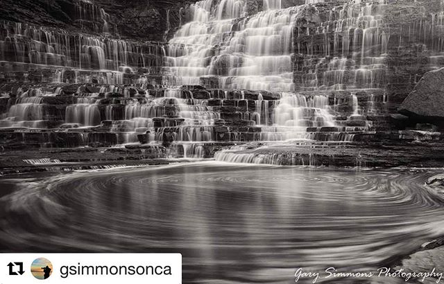 Thank you @gsimmonsonca for the post of Albion Falls in Hamilton Ontario👌. This location has now been blocked off from the public due to to many irresponsible people having accidents. Gary's image captures just how beautiful this location is! 👍  If you would like to be a featured artist on N49 please remember tag your images #n49share 😉  #ontario #albionfalls #hamilton #canada150